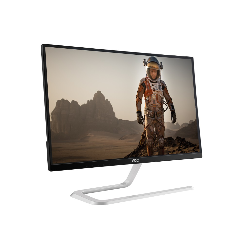 "AOC LCD I2481FXH 23,8""wide IPS LED/1920x1080/50mil:1/4 ms/VGA/2xHDMI"