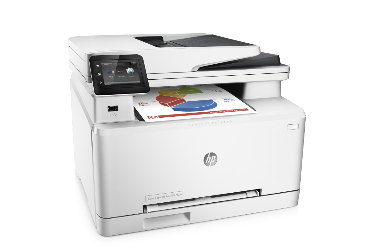 HP CLJ Pro Color MFP M274n (A4, 18/18 ppm, USB 2.0, Ethernet, Print/Scan/Copy/)