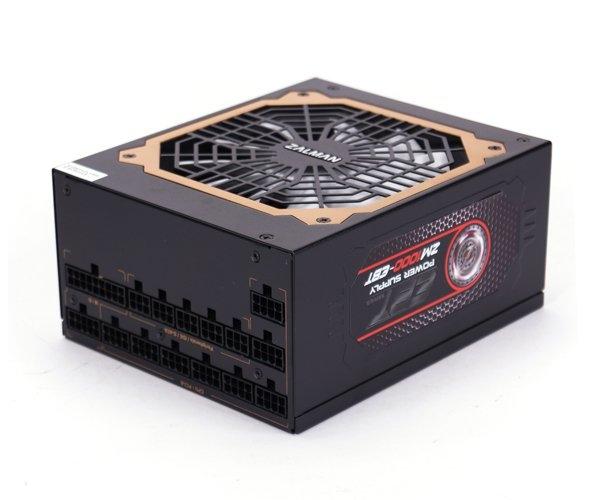 Zalman zdroj ZM1000-EBT 1000W eff. 92% 80Plus Gold ATX12V 2.3, EPS, PFC 13,5cm fan, modular