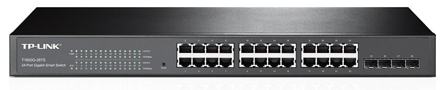 TP-Link T1600G-28TS(TL-SG2424) 28xGb + 4SFP smart