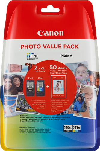 Canon cartridge PG-540XL/CL-541XL PHOTO VALUE