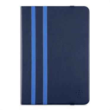 Belkin iPad Air 1/2 Twin Stripe Folio pouzdro, tmavě modré