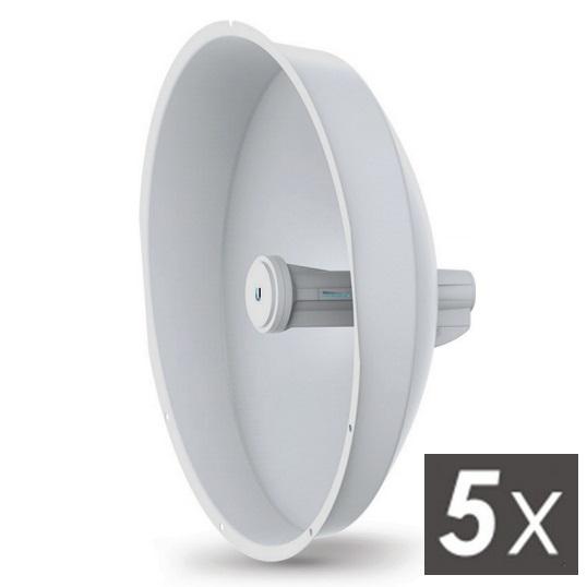 Ubiquiti PowerBeam5 AC ISO 400mm, venkovní, 5GHz AC, 2x 25dBi, Gigabit LAN, AirMAX AC ISO