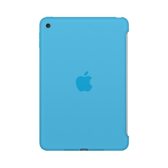 iPad mini 4 Silicone Case Blue