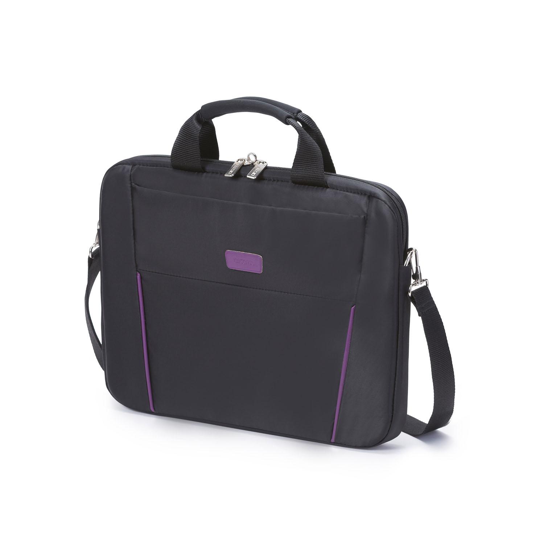 """Dicota Slim Case BASE 14-15,6"""" černo/fialová"""