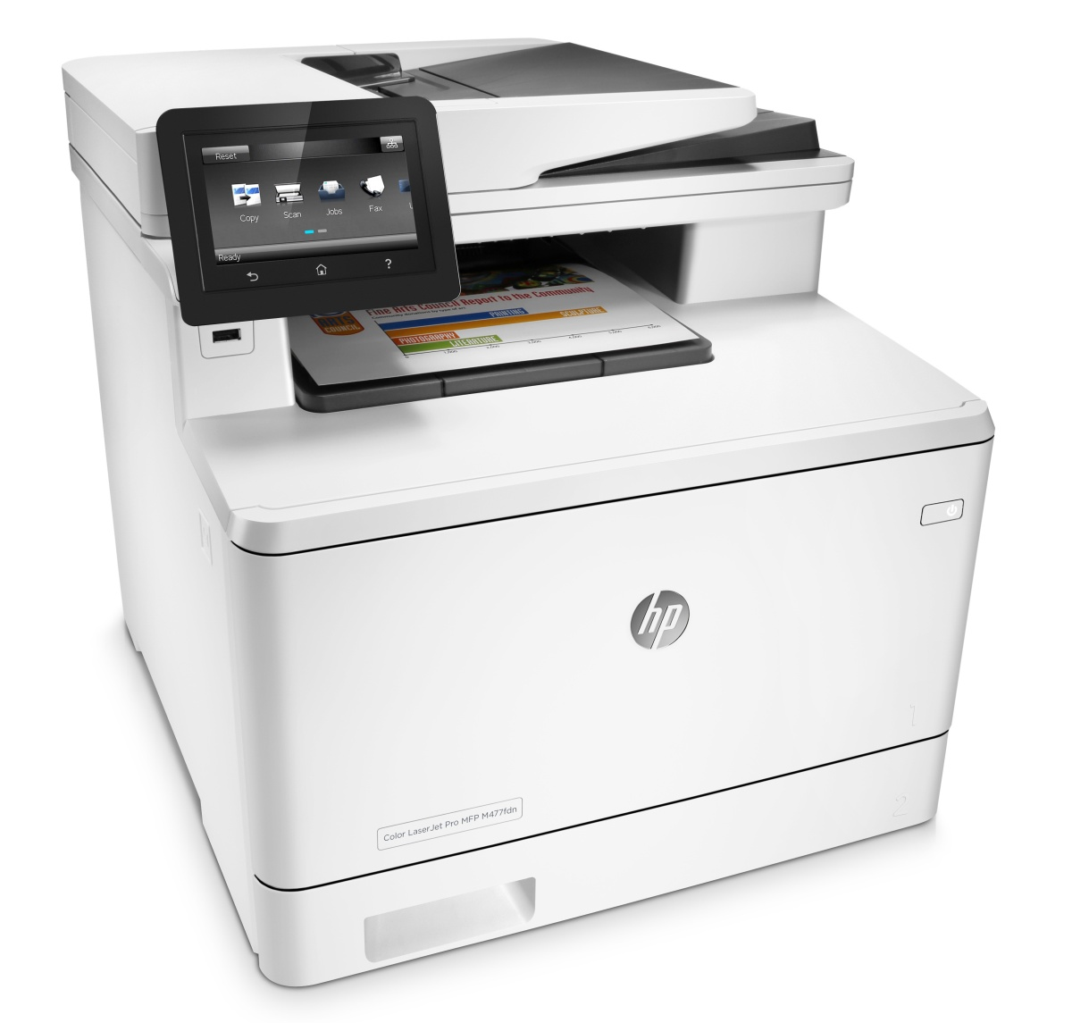 HP CLJ Pro MFP Color M477fdn (A4, 27/27ppm, USB 2.0, Ethernet, Print/Scan/Copy/Fax, Duplex)