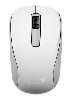 GENIUS Wireless myš NX-7005, USB, bílá, 1200dpi, BlueEye