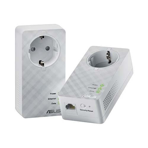 ASUS PL-E52P Duo (2pcs) Home Plug AV 600Mbps Powerline Adapter