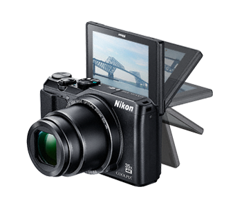NIKON COOLPIX A900 - 20,3 MP, 35x zoom VR - Black