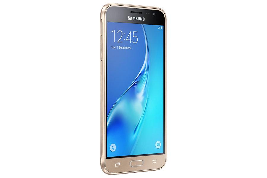 Samsung Galaxy J3, Gold, Dual Sim