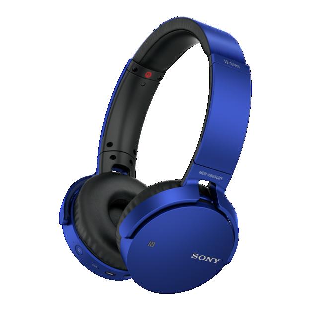 SONY MDR-XB650BT Sluchátka Bluetooth® EXTRA BASS - Blue