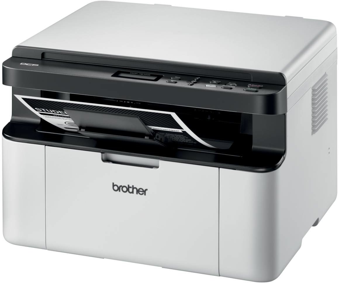 BROTHER multifunkce laserová DCP-1610WE A4, A4 sken, 32ppm, 16MB, 600x600copy, GDI, USB, WiFi