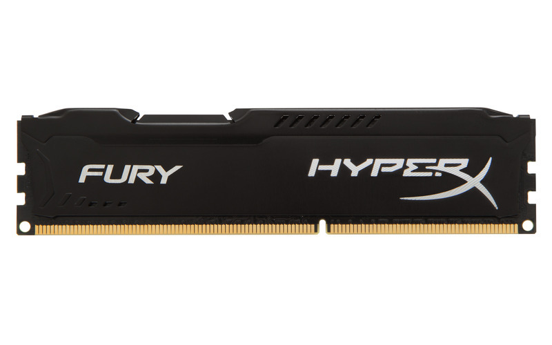 KINGSTON 8GB 1600MHz DDR3 CL10 DIMM HyperX FURY Black Series