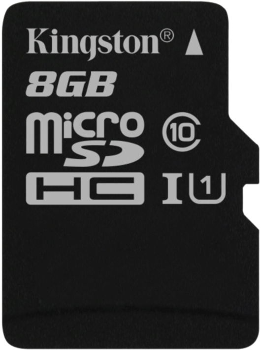 KINGSTON 8GB microSDHC UHS-I Class 10 Industrial Temp Card bez adaptéru