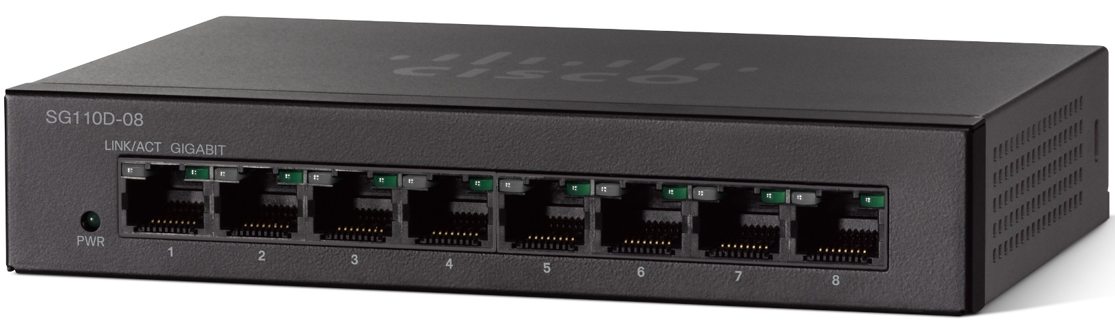 Cisco SG110D-08 8-Port Gigabit Unmanaged Switch