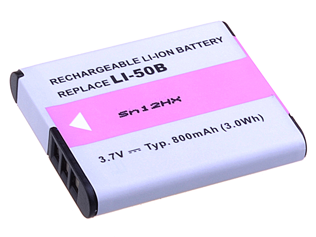 Baterie AVACOM Olympus Li-50B Li-ion 3.7V 800mAh