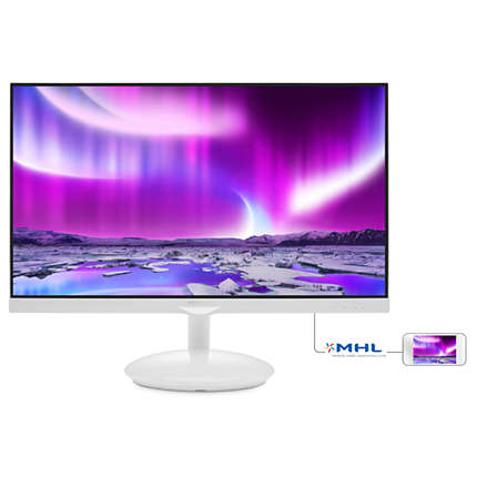 "Philips 275C5QHGSW/00 27"" AH-IPS LED 1920x1080 20 000 000:1 5ms 250cd HDMI"