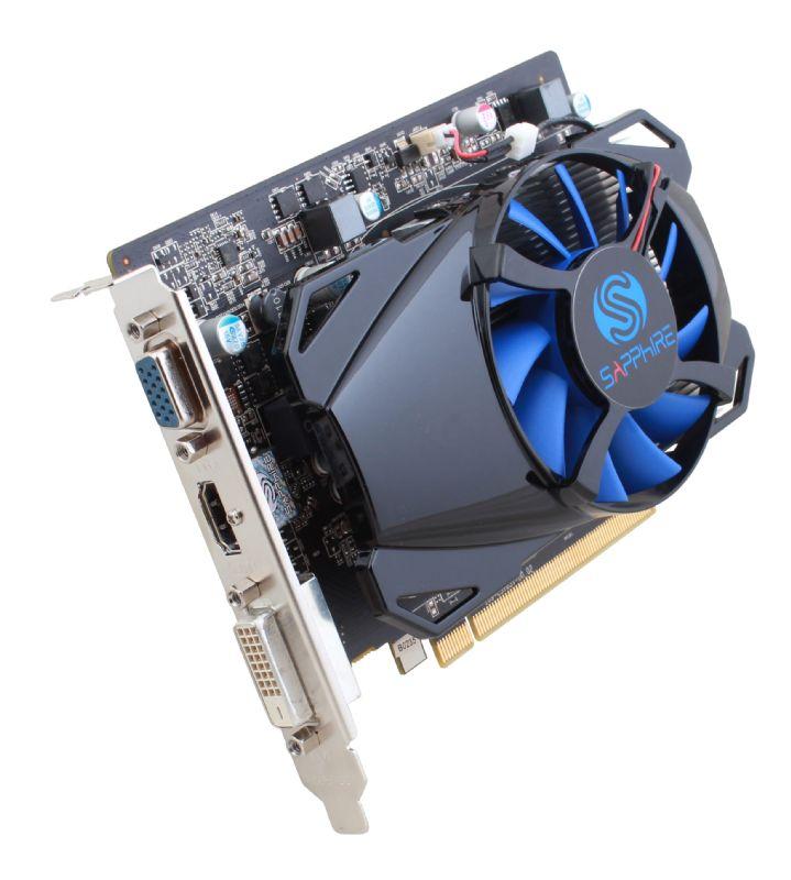 Sapphire Radeon R7 250 512SP Edition, 1GB GDDR5 (128 Bit), HDMI, DVI, VGA, LITE