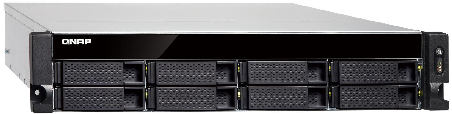 QNAP TS-863U-RP-4G (2.00GHz, 4GB RAM, 4x LAN, 8x SATA)