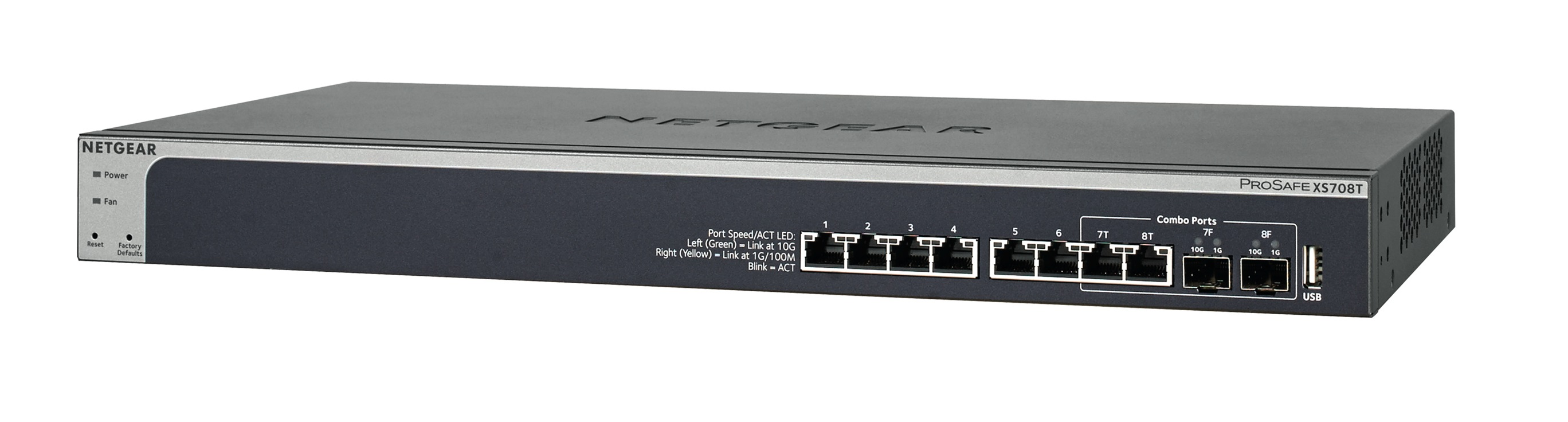 NETGEAR 8PT 10G SMART MANAGED SWITCH
