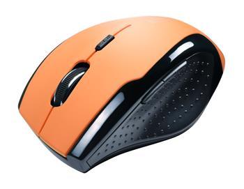 CONNECT IT bezdrátová optická myš - oranžová