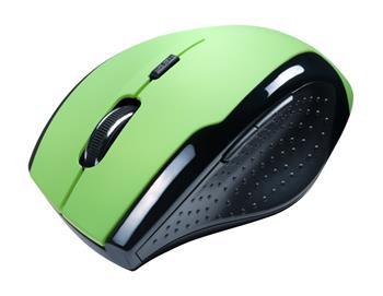 CONNECT IT bezdrátová optická myš - zelená