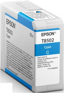 Epson Singlepack Photo Cyan T850200 UltraChrome HD ink 80ml