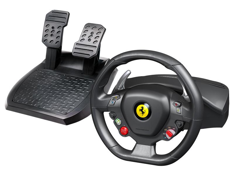 Thrustmaster Ferrari 458 Italia volant PC/Xbox360