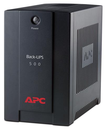 APC Back-UPS 500VA (300W), AVR