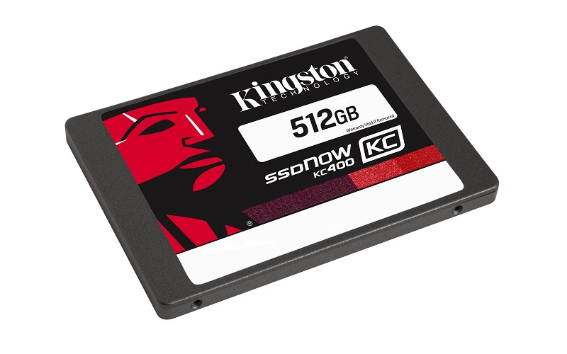 Kingston Flash SSD 512GB SSDNow KC400 SSD SATA 3 2.5 (7mm height)
