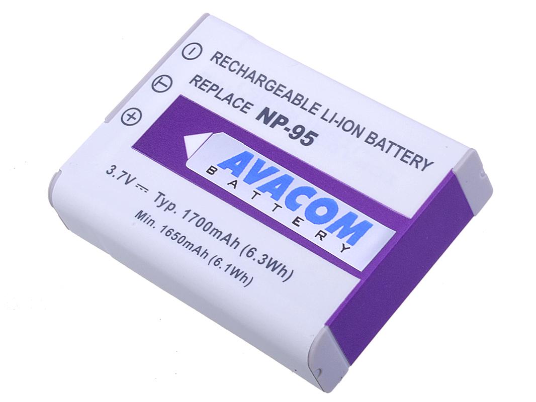 Baterie AVACOM Fujifilm NP-95 Li-Ion 3.7V 1700mAh