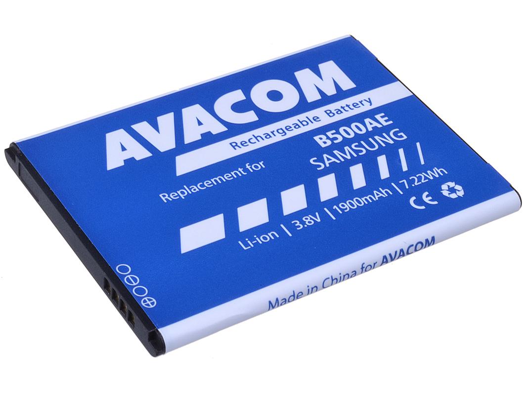 Avacom baterie do mobilu Samsung Galaxy S4 mini, Li-ion 3,7V 1900mAh (náhrada B500AE)