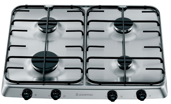 Varná deska plyn. Ariston PF 640 ES IX/HA