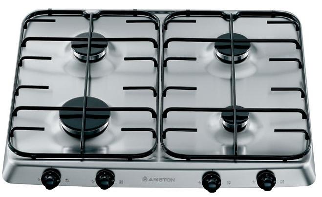 Varná deska plyn. Ariston PF 640 ES (WH)/HA bílá