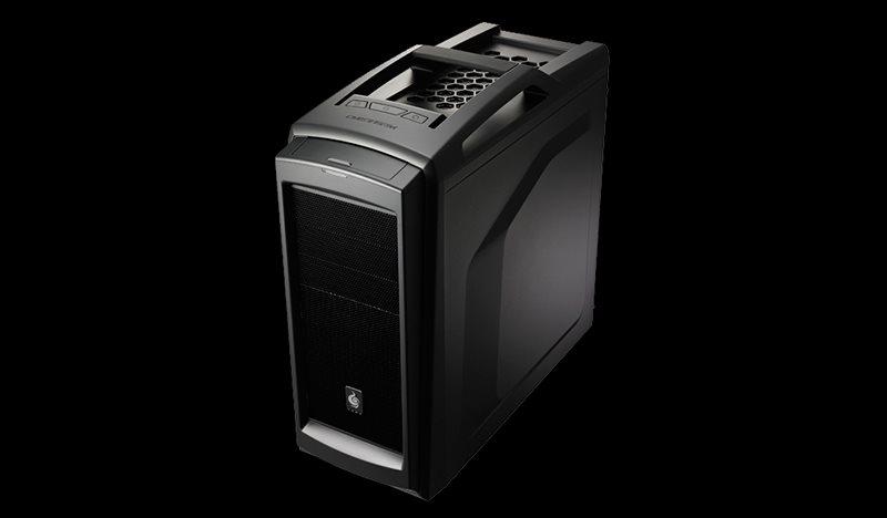 CM STORM case Scout 2 miditower, ATX, USB3.0, bez zdroje, průhl. bočnice, černý