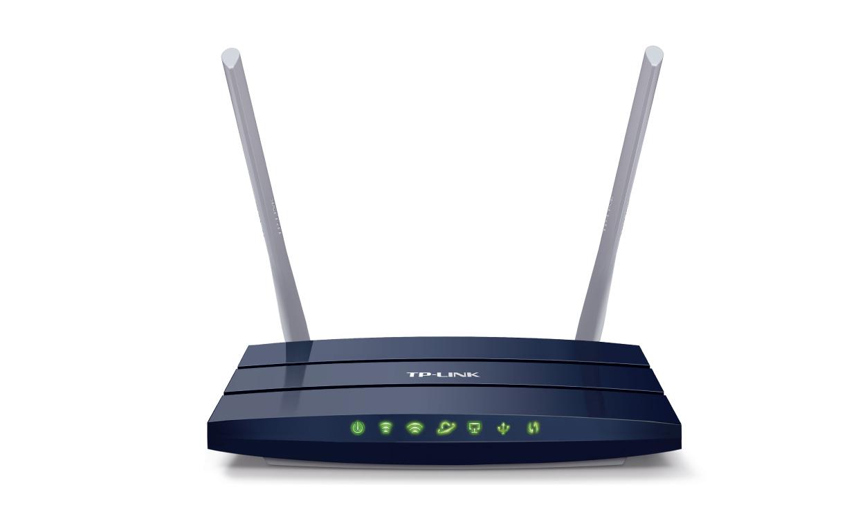 TP-Link Archer C50 - bezdrátový Dual Band Router, 300+867Mbps, 2.4+5GHz, 1x WAN, 4x LAN, 802.11ac/a/b/g/n