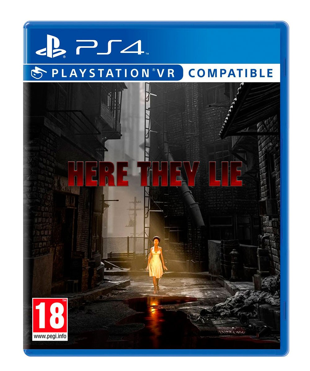 SONY PS4 hra Here They Lie VR