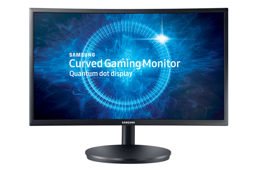 "Samsung LED LCD 24"" C24FG70 16:9 VA/1920x1080/3000:1/1ms/350 cd/2xHDMI/DP/Quantum Dot/Prohnutý"