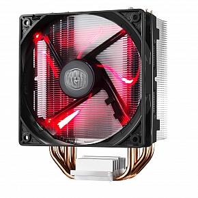 chladič Cooler Master Hyper 212 LED , univ. socket, 120mm PWM red LED fan