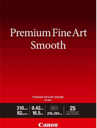Canon fotopapír Premium FineArt Smooth A3+ 25 sheets