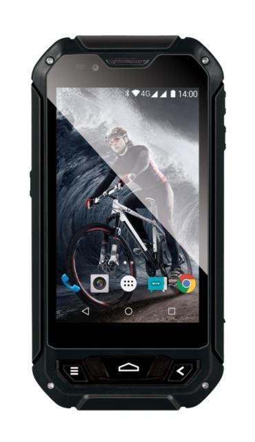 EVOLVEO StrongPhone Q5, vodotěsný odolný Android Quad Core smartphone, dual sim
