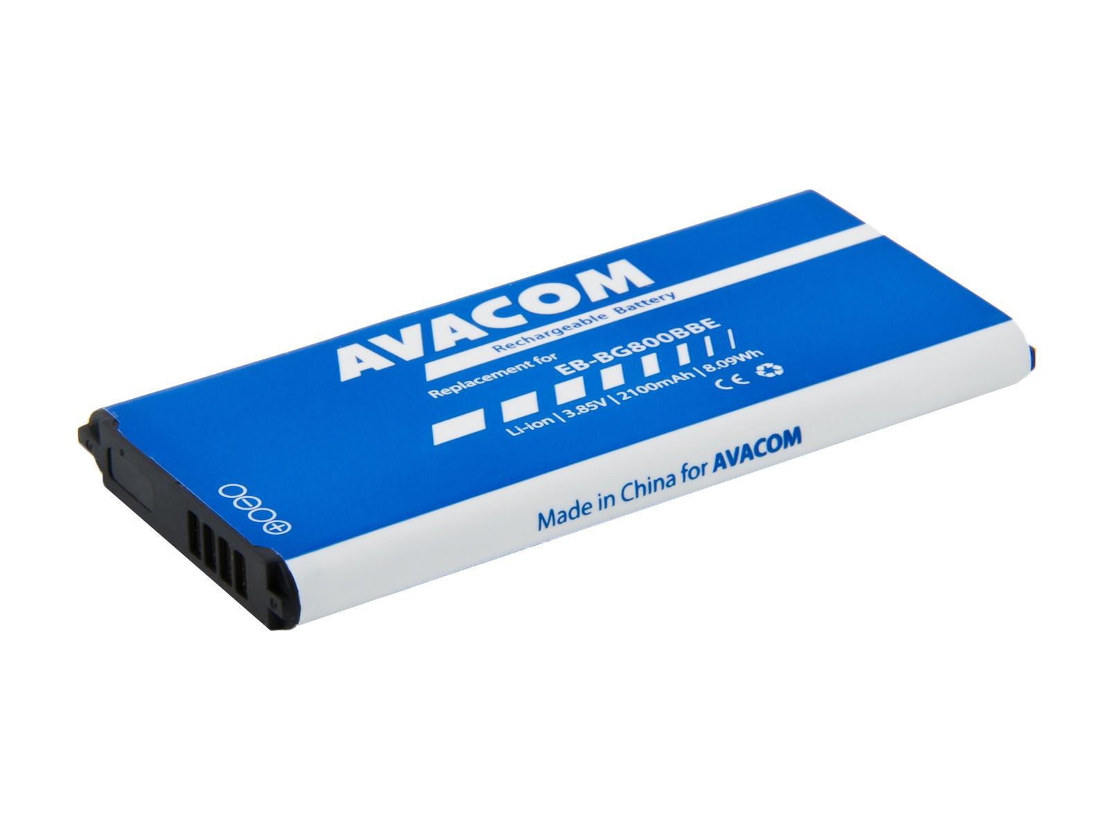Náhradní baterie AVACOM Baterie do mobilu Samsung Galaxy S5 mini Li-Ion 3,85V 2100mAh, (náhrada EB-BG800BBE)