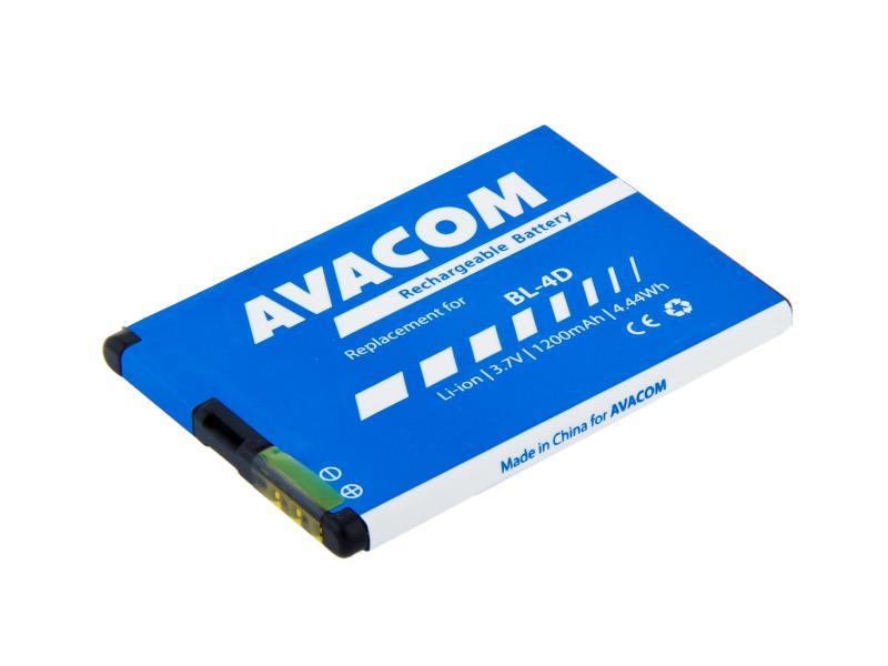 Baterie do mobilu Nokia E7, N8 Li-Ion 3,7V 1200mAh (náhrada za BL-4D)