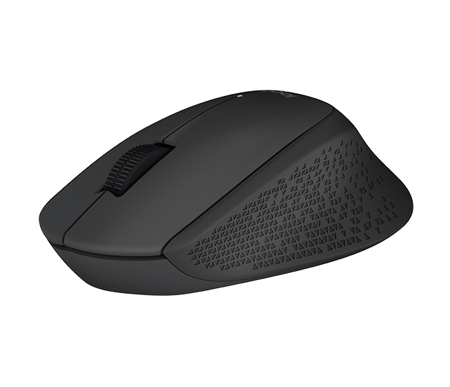 Logitech myš Wireless Mouse M280 , optická, 3 tlačítka, černá