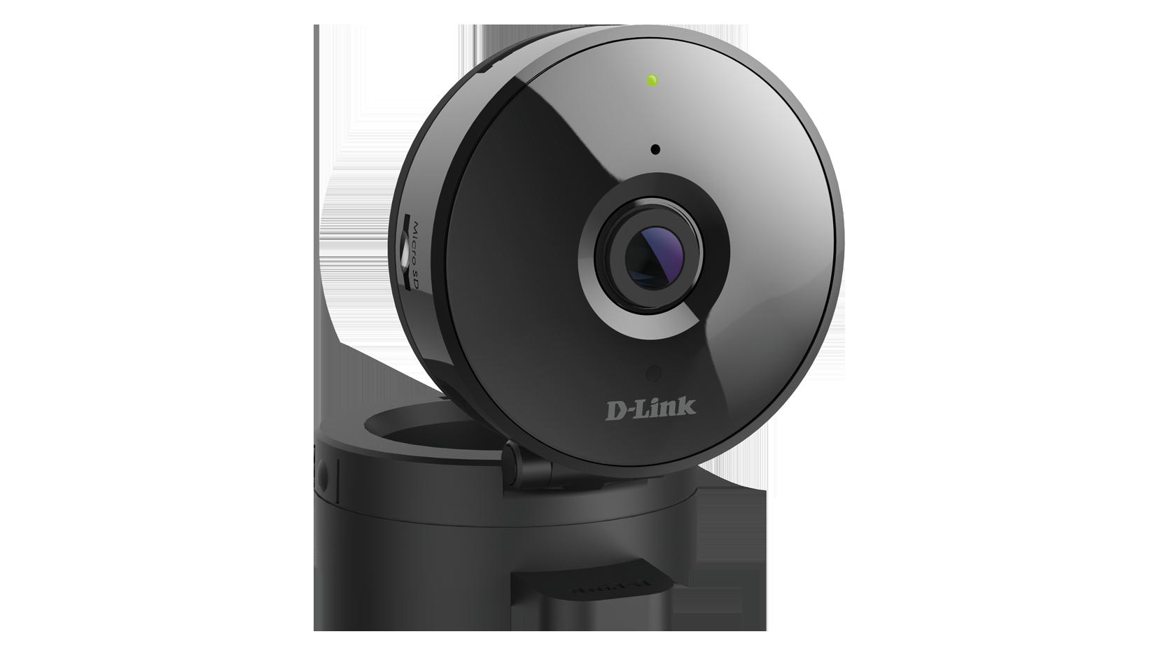 D-Link DCS-936L Wi-Fi Cloud HD kamera, 720p, slot pro microSD kartu, noční vidění 5m, detekce pohybu a zvuku