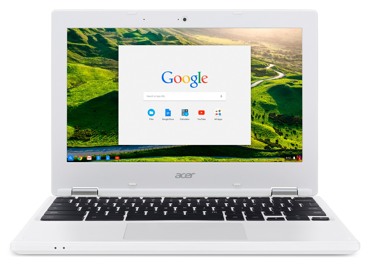 "Acer Chromebook 11 (CB3-131-C4SZ) Celeron N2840/2GB/eMMC 32GB+N/HD Graphics/11.6"" HD ComfyView LCD/Google Chrome/White"