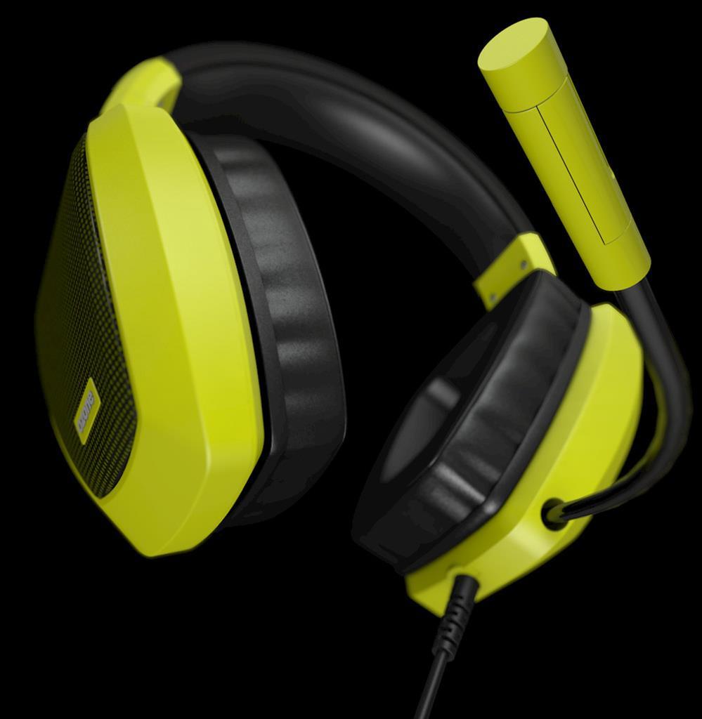 Ozone herní sluchátka RAGE Z50 žluté