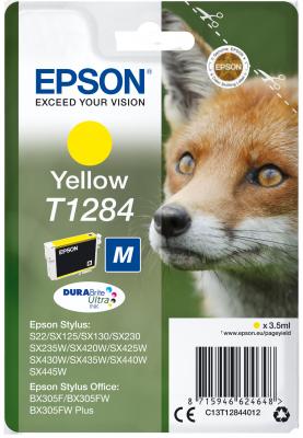 EPSON cartridge T1284 yellow (liška)