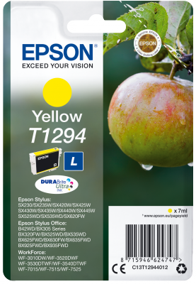 EPSON cartridge T1294 yellow (jablko)