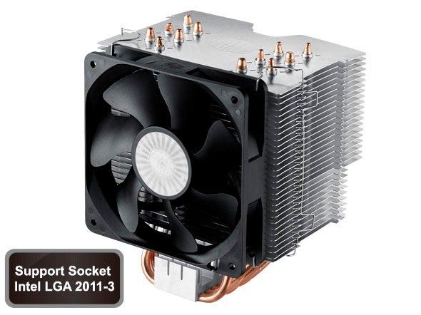 Coolermaster chladič Hyper 612 ver. 2 ,skt. 1155/1156/1366/775/AM2/AM3/FM1.silent 800-1300rpm
